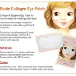 Etude house Collagen eye patch 4g 2
