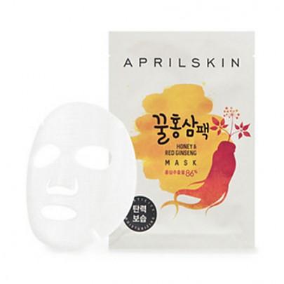AprilSkin Honey & Red Ginseng Mask (10 sheets)