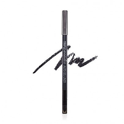 Banila co Triple Wonder Auto Gel Liner (Deep Black) Waterproof Type 0.5g