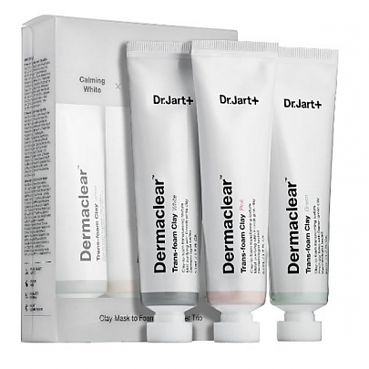 Dr.jart Dermaclear Trans Foam Clay 3type SET (50mlx3pcs)