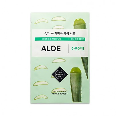Etude house 0.2mm Therapy Air Mask #Aloe