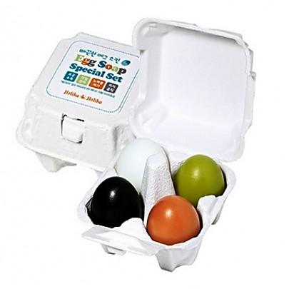 Holika Holika Egg Soap Special Set (50g X 4pcs)