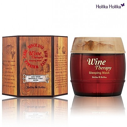 Holika Holika Wine Therapy Sleeping Mask #Red wine 120ml