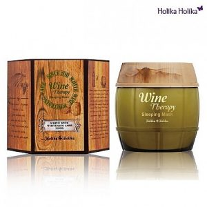 Holika Holika Wine Therapy Sleeping Mask #White wine 120ml