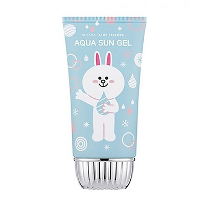 Missha Line friends All around Safe Block Aqua Sun Gel