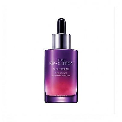 Missha Time Revolution Night Repair New Science Activator Ampoule, 1.7oz