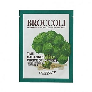 Skinfood Everyday Beauty Broccoli Facial Mask Sheet