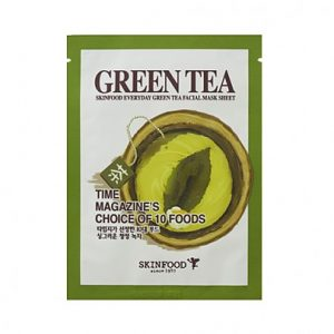 Skinfood Everyday Beauty Green Tea Facial Mask Sheet