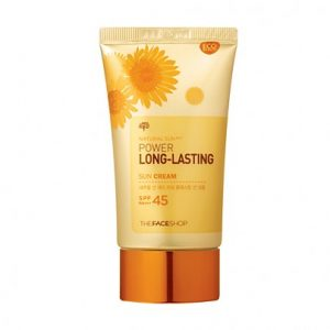 The face shop Natural Sun Eco Power Long Lasting Sunblock 80ml