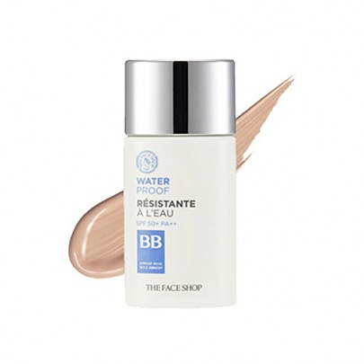 The face shop Waterproof BB cream V201(no.21) SPF50+ PA+++ 50ml