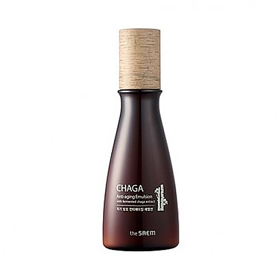 The saem CHAGA Anti-aging Emulsion with fermented chaga extract 140ml