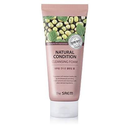 The saem Natural Condition Cleansing Foam #Firming 150ml