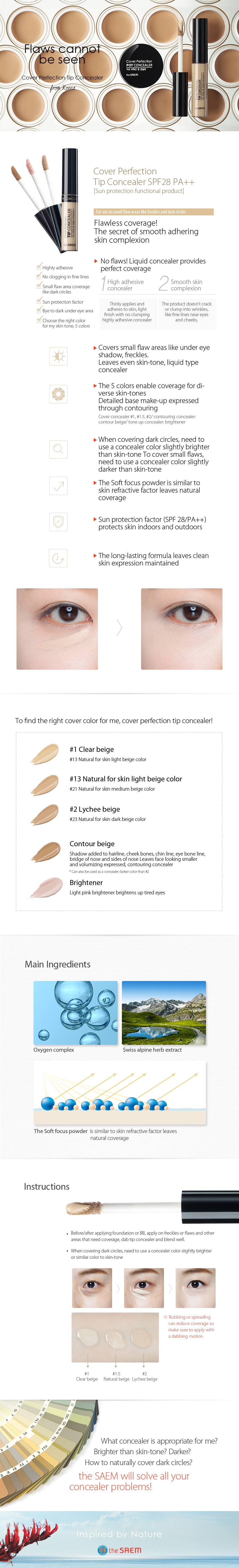 the-SAEM-Cover-Perfection-Tip-Concealer-6-8g-Beige-Made-in-Korea the-SAEM-Cover-Perfection-Tip-Concealer-6-8g-Beige-Made-in-Korea the-SAEM-Cover-Perfection-Tip-Concealer-6-8g-Beige-Made-in-Korea the-SAEM-Cover-Perfection-Tip-Concealer-6-8g-Beige-Made-in-Korea [the SAEM] Cover Perfection Tip Concealer 6.8g, Beige Made in Korea