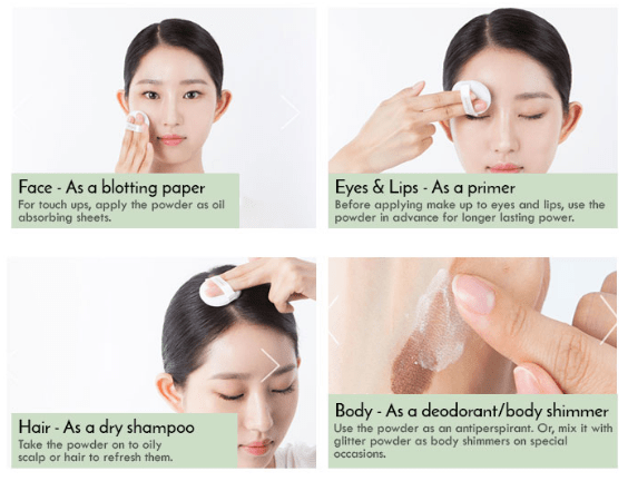 How to Use Innisfree No sebum mineral powder 5g from Shopandshop