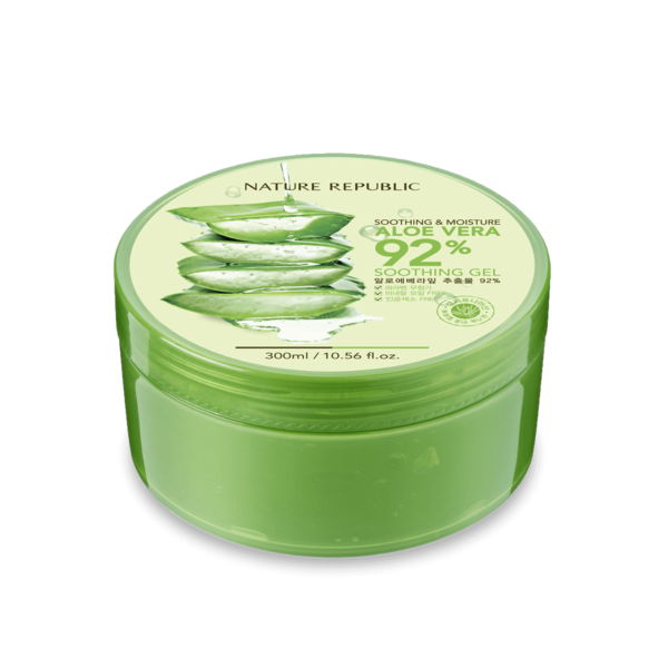 ShopandShop [Nature Republic] Aloe Vera Soothing Gel, 92% Soothing and Moisture, 300ml