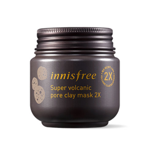Innisfree Super Volcanic Pore Clay Mask 2X 100ml Renewal