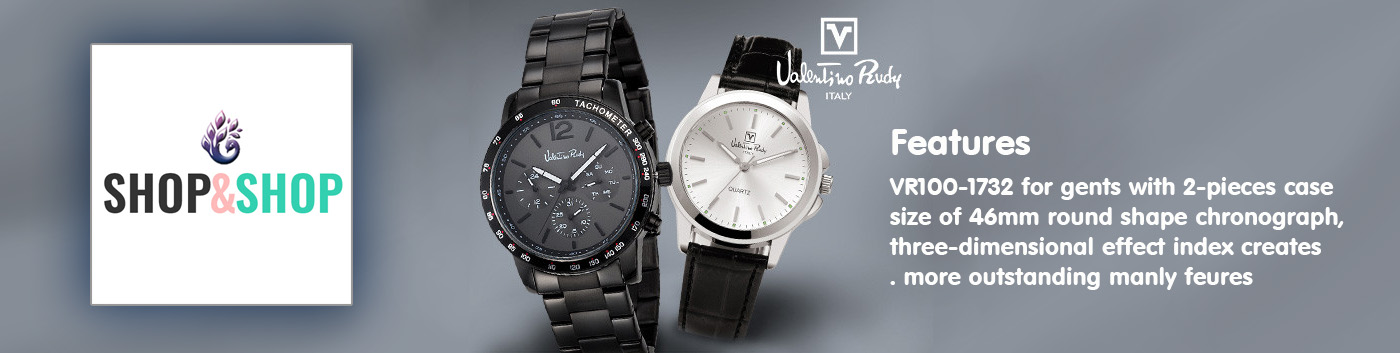 Valentino Rudy Watches From ShopandShop