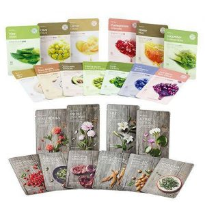 THE FACE SHOP Real Nature Face Mask Sheet 20g * 7 PCS – 23 Types
