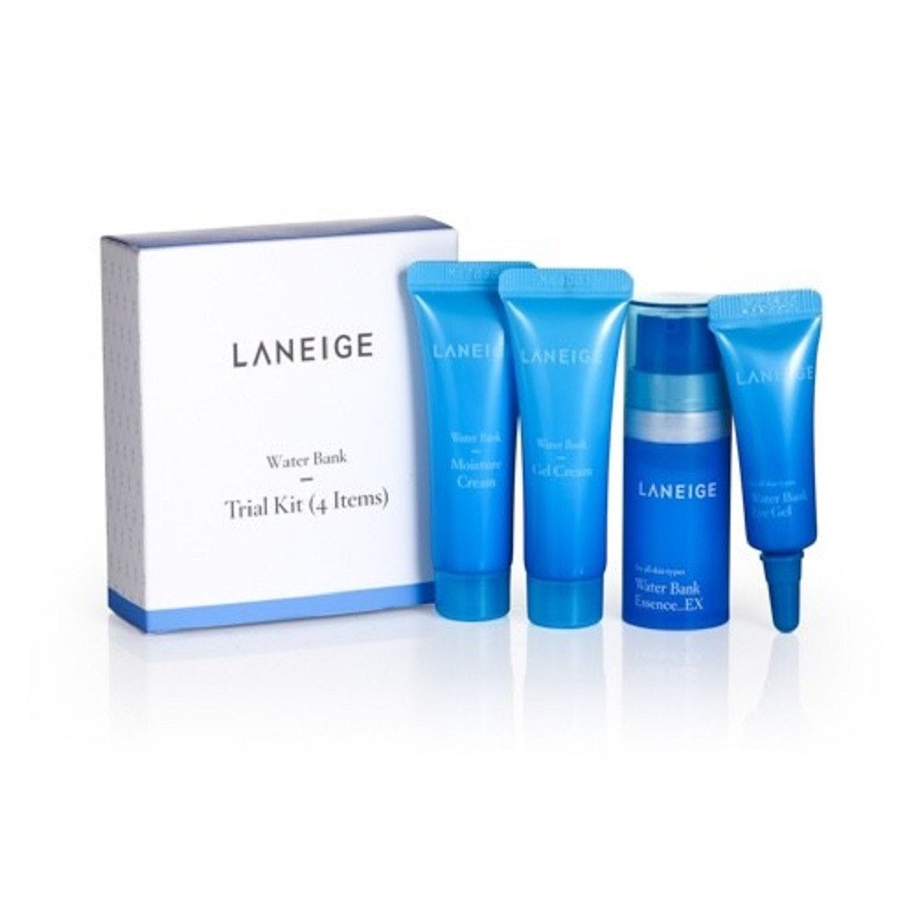 Laneige Water Bank Trial Kit (4 Items) from Shopandshop