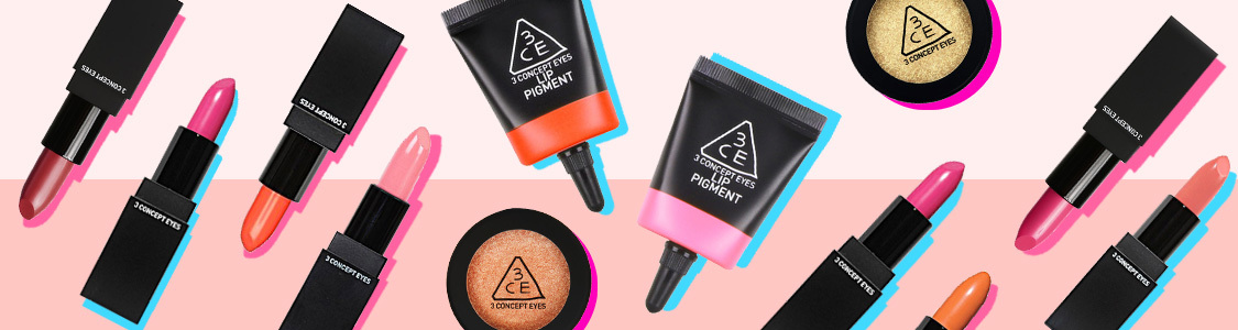 Beauty Look With 3ce Makeup Products