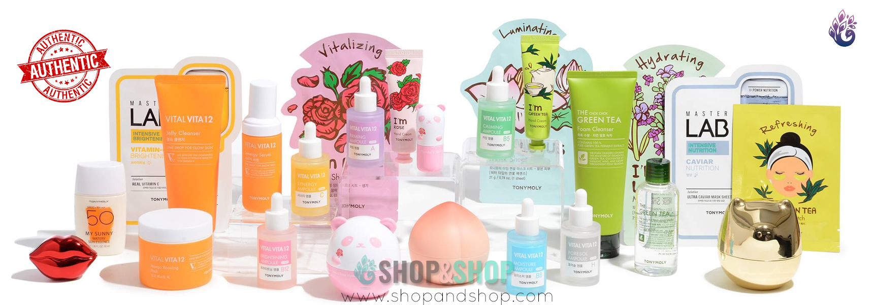 Tonymoly brand products in India from Shop&Shop