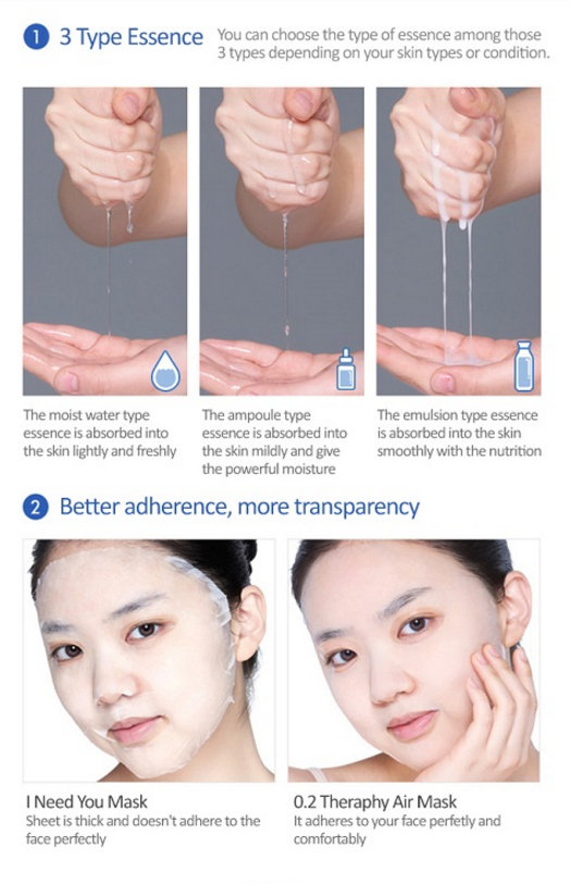 [Etude house] 0.2mm Therapy Air Mask #Aloe