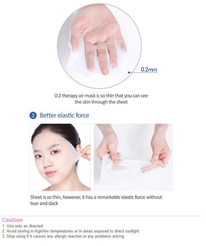 [Etude house] 0.2mm Therapy Air Mask #Green Tea