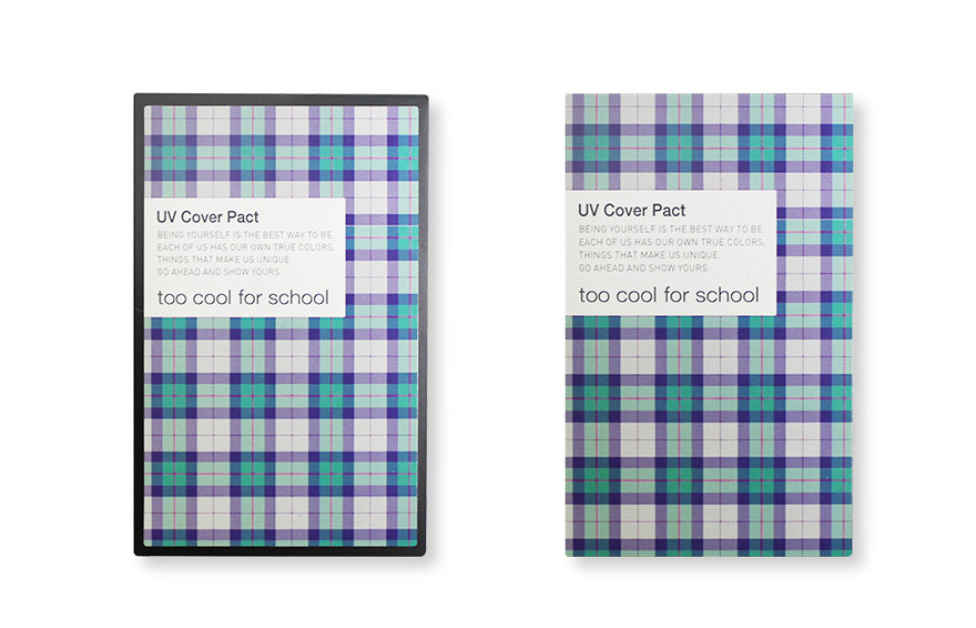 [Too Cool For School] Check UV Cover Pact SPF50+ PA+++